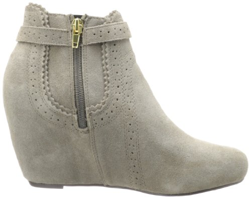 Dv Van Dolce Vita Dames Parkers Bootie Taupe Suede