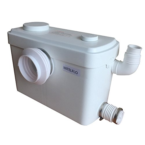 Toilet Macerating Pump,Kitchen Waste Water Disposal Pump,Reamer crush Function,Automatic start stop,AC 110V 600W High Power Saving Function Toilet Macerator Pump ()