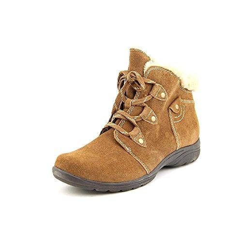 Earth Origins Women's, Cooper Faux Fur Trim Ankle Boots Carob 11 M ()