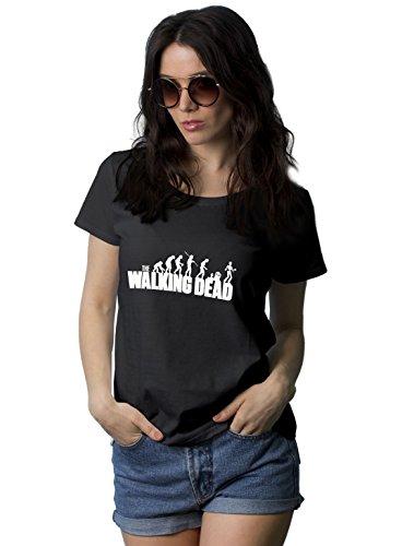 Decrum Womens The Walking Dead T Shirt For Women - The Walking Dead Clothings | Walking Dead Shirt, XXL (Walking Plus Size T-shirt)