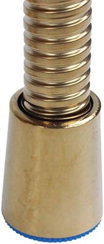 Fauge 2 St/üCke 1.5M Gold Dusch Schlauch Lange Spirale Flexibler Edelstahl Bade Zimmer Wasser Rohr Dusch Rohr Rohr Rohr Leitungs Schlauch