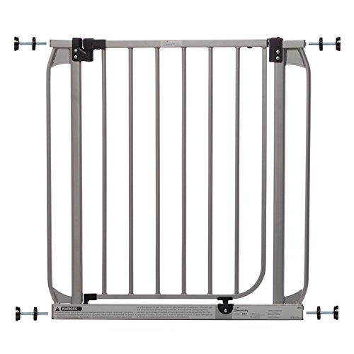 Dreambaby Dawson Auto-Close Security Gate w Stay Open Feature, Silver 28-32in
