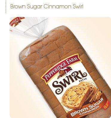 Cinnamon Swirl Bread - Pepperidge Farm Swirl Bread, Brown Sugar Cinnamon (Pack of 3)