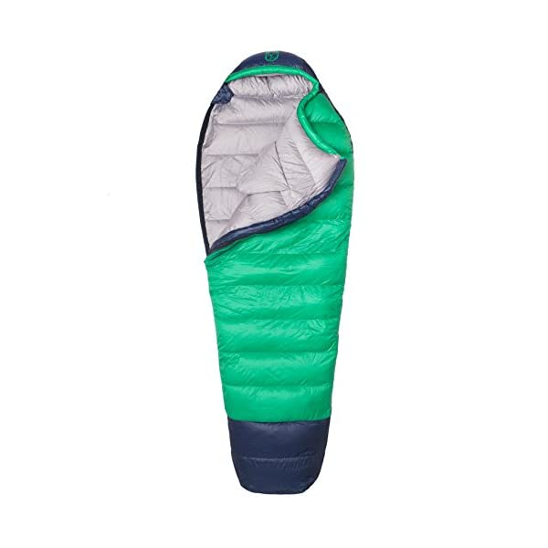Paria Outdoor Products Thermodown 0 Degree Down Mummy Sleeping Bag Ultralight Cold Weather 4 Season Bag Perfect For Backcountry Camping And Backpacking