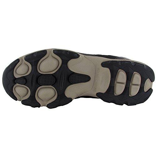 Skechers Heren 51376 Urban Voltaic Recreate Shoe, Black / Taupe, Us 13