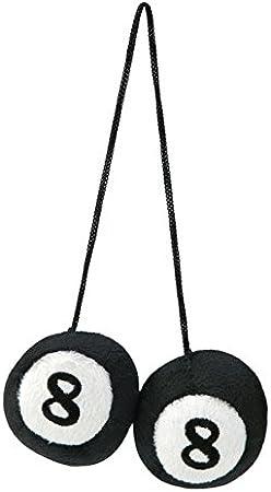 Peluche bolas de billar bola 8 Negro: Amazon.es: Coche y moto