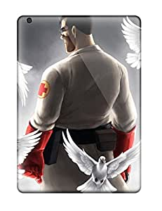 Durable Protector Case Cover With Team Fortress 2 Hot Design For Ipad Air