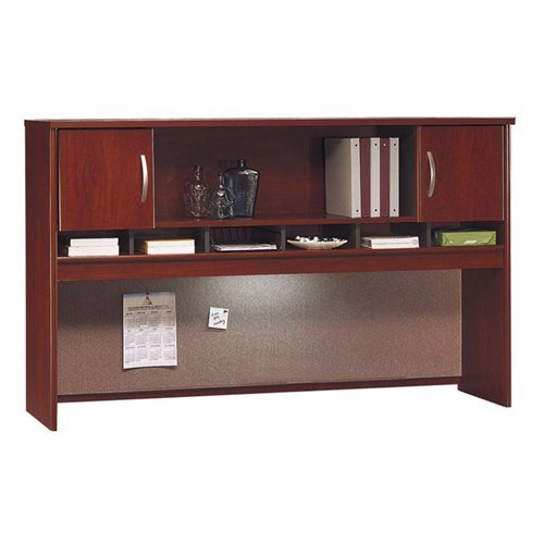 Bush Business Furniture Series C 72W 2 Door Hutch in Hansen Cherry