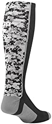 TCK Sports Digital Camo Over The Calf Socks, Black, Small
