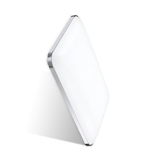 Hengda® 48W LED Deckenleuchte Panel Alu-matt Energiespar Badlampe ... | {Badlampen deckenleuchte 60}