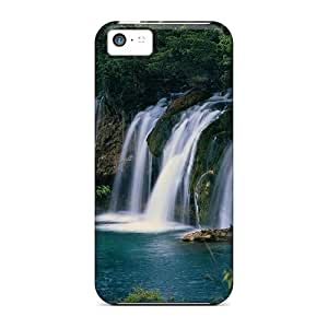 Tough Iphone WmfQG11106rtQMH Case Cover/ Case For Iphone 5c(waterfalls Plitvice Croatia)