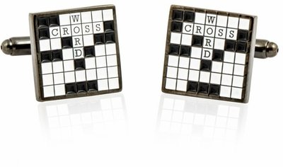 - Crossword Cufflinks Puzzle Puzzle Puzzle Cuff Links 17468f