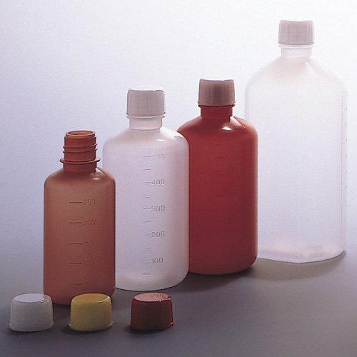 投薬瓶広ボトル白(滅菌済) 1000CC(2ホンX14フクロイリ) エムアイケミカル キャップ:白(基本色)   B01KDPGNT8