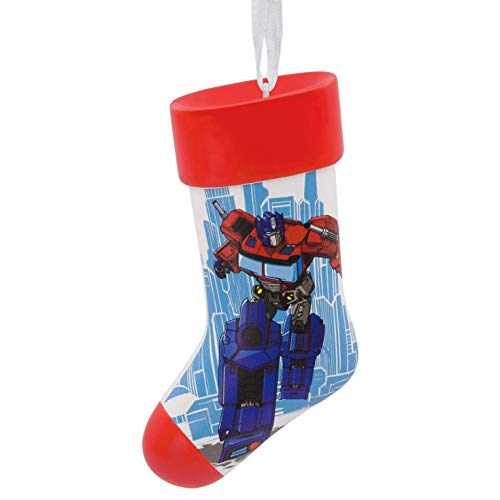 Hallmark DIY Personalized Christmas Ornament, Transformers Optimus Prime Stocking