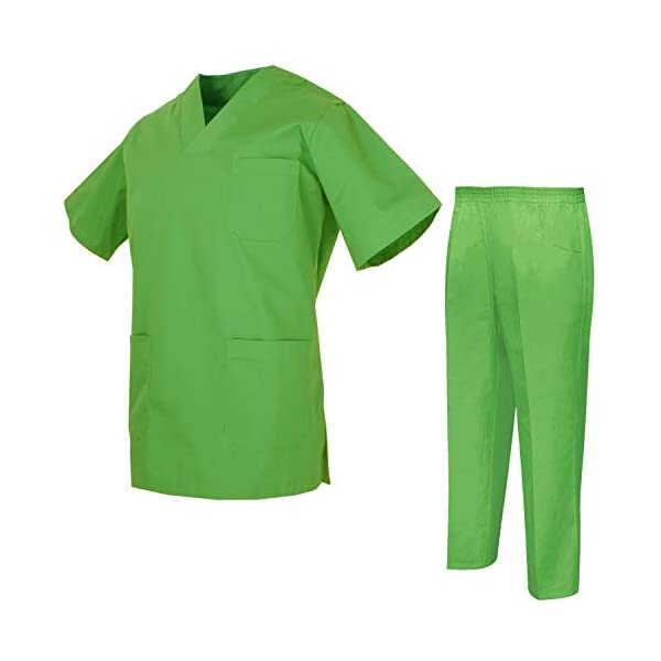 MISEMIYA Uniforms Unisex Scrub Set Conjunto de Trabajo para Hombre 2