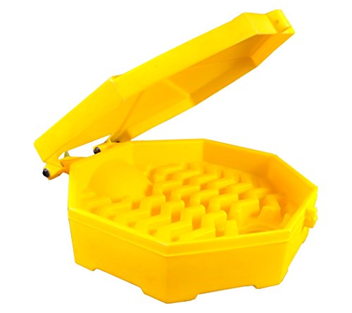 Ultratech 0484 Plastic Bung Access Ultra-Drum Funnel with...