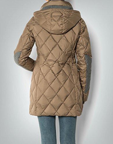 Marc O'Polo Damen Mantel Daune Warme Jacke Unifarben, Größe: 38, Farbe: Braun