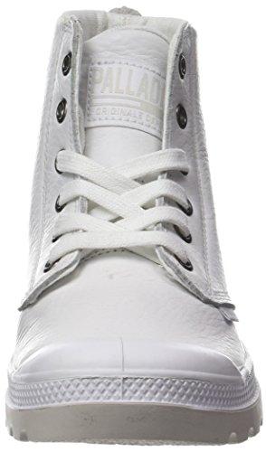 Palladium Leat Mixte Blanc Baskets Adulte Hi Hautes U Pampa White rxESrp