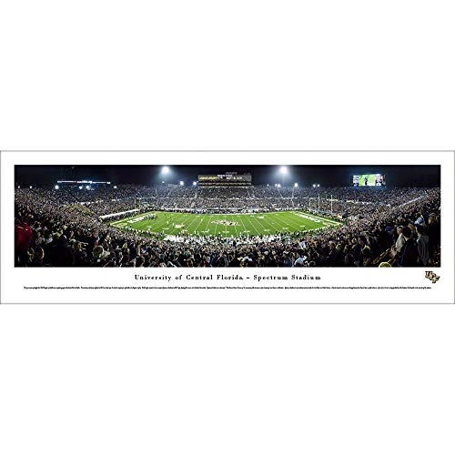 UCF Football - Unframed 40 x 13.5 Poster by Blakeway Panoramas