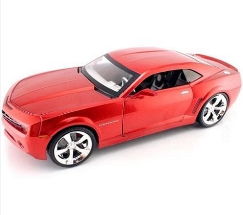Jada Toys Dub City - Chevy Camaro Concept Hard Top (2006, 1:18, Red) Chevrolet diecast car model american design