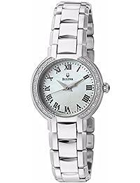 Women's 96R159XG Diamond Dial Quartz Watch (Certified Refurbished)