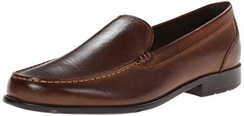 Rockport Men's Classic Lite Venetian Slip-On Loafer- Dark Brown-10.5 W (Best Looking Golf Shoes)