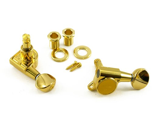 Gotoh Locking Tuners Right Hand - 6 Pack Gold