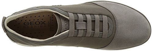 Geox Mens Nébuleuse 17 Sneaker Colombe Gris
