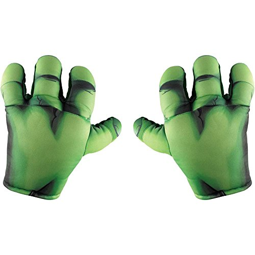 [Marvel and Subs Halloween Party Hulk Soft Big Hands] (Baby Girl Marvel Costumes)