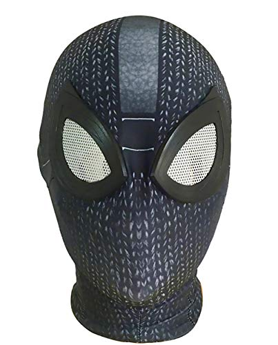 Halloween Costume Accessory Miles Morales Cosplay Mask Faceshell Kids Mask Anime Props