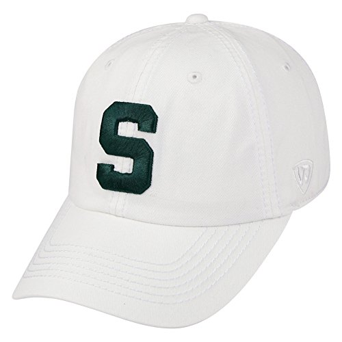 Top of the World Michigan State Spartans Men's Hat Icon, White, Adjustable