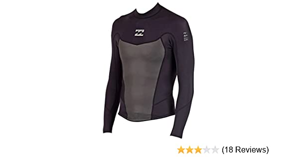 97bb458613 Amazon.com  2mm Mens Billabong Foil Long Sleeve Wetsuit Jacket - Size Medium  (M)  Sports   Outdoors