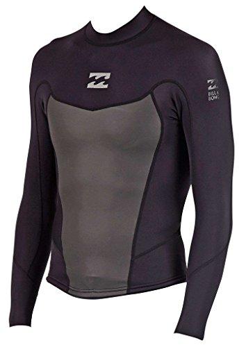 2mm Mens Billabong Foil Long Sleeve Wetsuit Jacket - Size Medium (M)