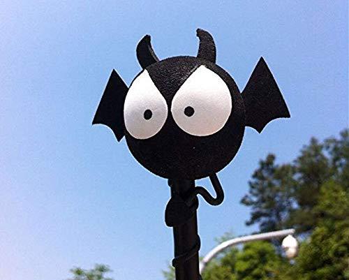 Big Eyes bat EVA auto antenna topper antenna antenna palla Truck SUV penna decorazione nero