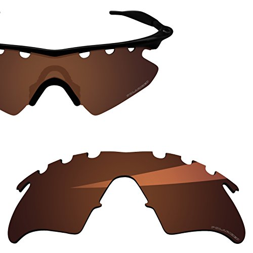 BlazerBuck Anti-salt Polarized Replacement Lenses for Oakley M Frame Heater - Vented Amber -