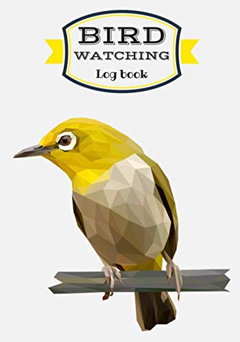 """Bird Watching Log Book: Birding Journal to record Birds Sightings & List Species   Seen and Draw   Large Print 7""""x10"""" Inch   104 Pages   Gift for Birdwatchers & Birders."""