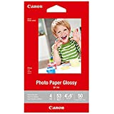 "CanonInk Glossy Photo Paper 4""x 6"" 50 Sheets (1433C002)"