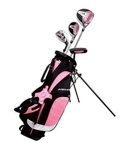 Remarkable Girls Right Handed Pink Junior Golf Club Set for Age 3 to 5 (Height 3' to 3'8