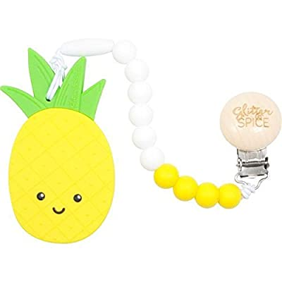 Glitter and Spice Pineapple Teether : Baby