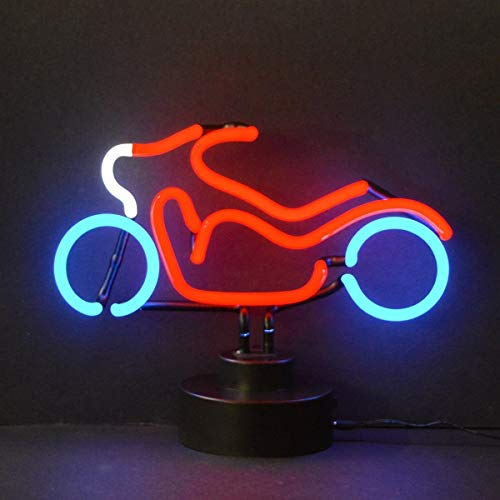 Neon Motorcycle Sculpture - Neonetics Motorcycle NEON Sculpture