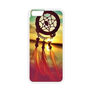 K9Q Sunrise Dream Catcher Pattern Cloud Feather Mayan Aztec Tribal Case Cover Back Skin Shell Shield Retro Vintage Dreamcatcher + A Nice Gift TPU Phone case cover for iphone6 plus 5.5 inch white