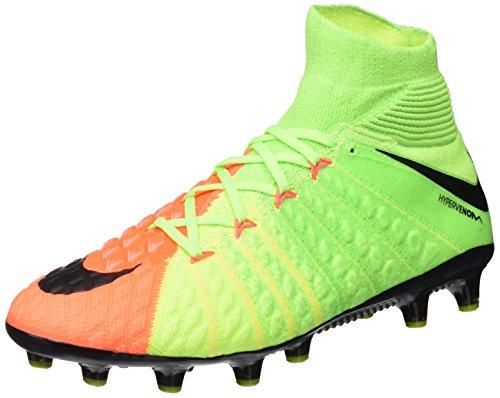 Nike Herren Hypervenom Phantom 3 AG-Pro Fußballschuhe Grün (Electric Green/black/hyper Orange/volt)