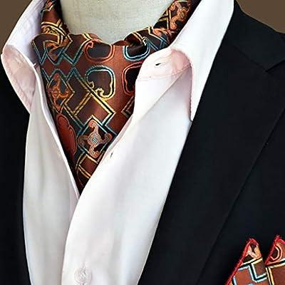 QXX Bufanda para Hombre Pajarita Bufanda Camisa con Cuello Redondo, 50.4 * 6.3 Pulgadas, una Variedad de Estilos Disponibles (Color : #1): Amazon.es: Hogar