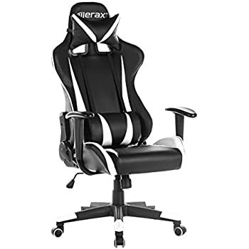 Lovely Merax Racing Gaming High Back Chair Computer Ergonomic Design Computer Chair  PU Leather Office Chair