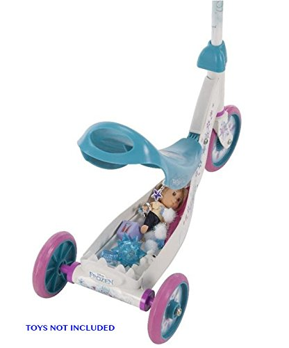 Amazon.com: scooter New My Frozen Kick 3 ruedas con ...