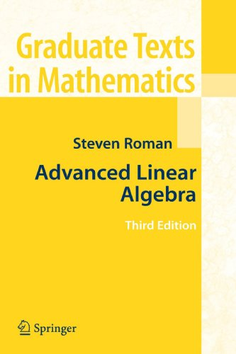 Advanced Linear Algebra (Graduate Texts in Mathematics) (Linear Algebra Advanced compare prices)