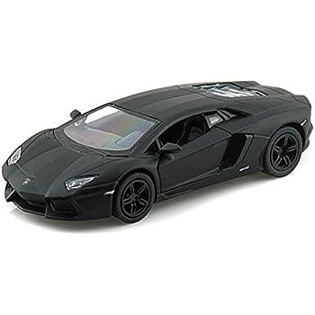 Lamborghini Aventador LP700 4 1/38 Matte Black By Collectable Diecast