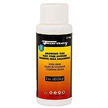 Forney 61466 Rosin Solder Flux Liquid, 3-Ounce