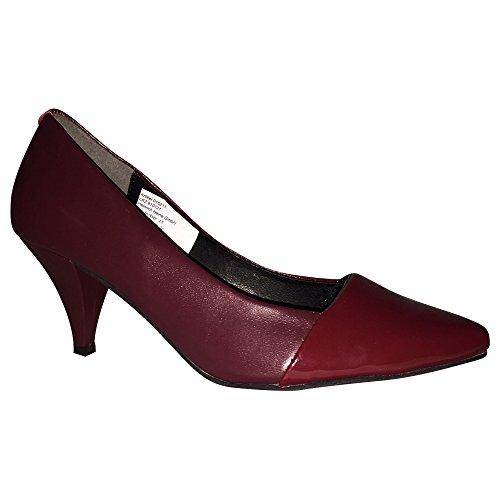 Patrizia Dini Pumps Schuhe Damenschuhe High Heels Bordeaux Echtleder Neu (42)