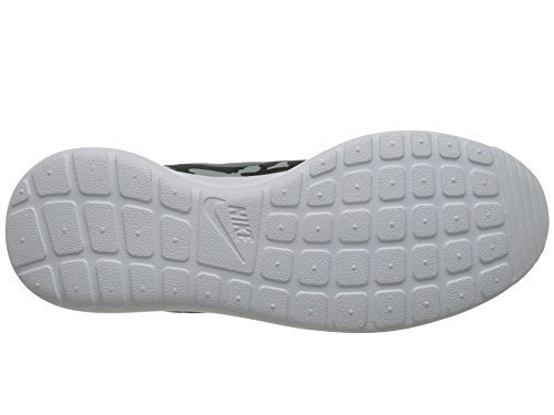 Nike Roshe One Print, Scarpe Sportive, Uomo Schwarz / Blau Graphite / Grey Mist